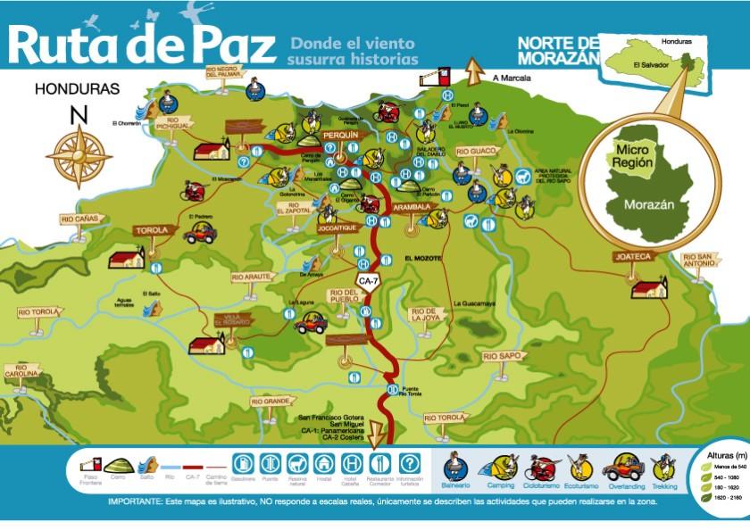 Mapa Ruta De Paz